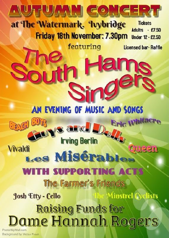 The South Hams Singers - Autumn concert